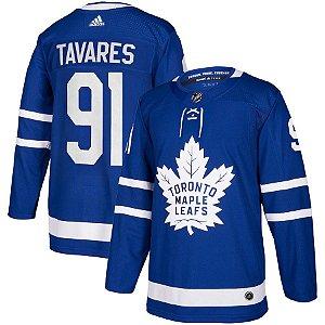 Camisa Nhl Jersey Toronto Maple Leafs Hockey #91 Tavares