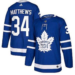 Camisa Nhl Jersey Toronto Maple Leafs Hockey #34 Matthews