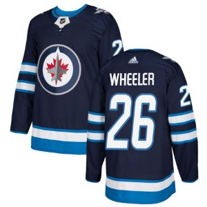 Camisa Nhl Jersey Winnipeg Jets 2 Hockey #26 Wheeler
