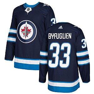 Camisa Nhl Jersey Winnipeg Jets 2 Hockey #33 Byfuglien