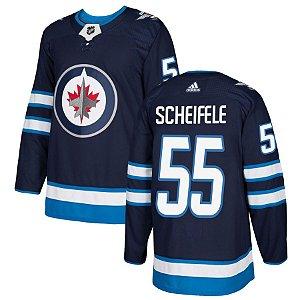 Camisa Nhl Jersey Winnipeg Jets 2 Hockey #55 Scheifele