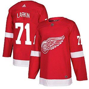 Camisa Jersey Nhl Detroit Red Wings 1 Hockey #71 Larkin
