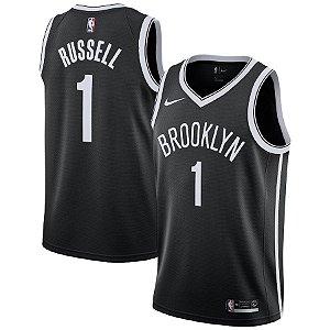 Camisa Regata Nba Brooklyn Nets Basquete #1 Russell