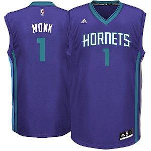 Camisa Regata Nba Charlotte Hornets Basquete #1 Monk
