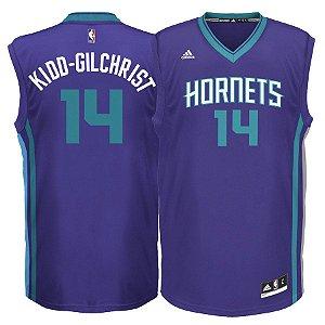 Camisa Regata Nba Charlotte Hornets Basquete #14 Kidd-Gilchrist