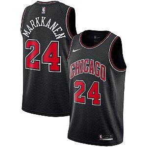Camisa Regata Nba Basquete Chicago Bulls #24 Markkanen