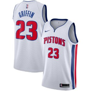 Camisa Regata Nba Basquete Detroit Pistons #23 Griffin