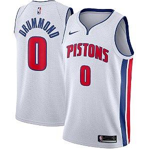Camisa Regata Nba Basquete Detroit Pistons #0 Drummond