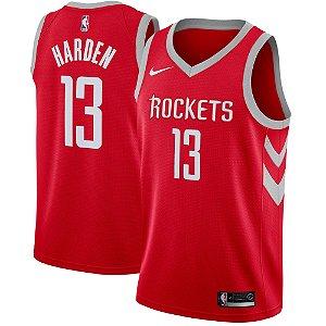 Camisa Regata Nba Basquete 2 Houston Rockets #13 Harden