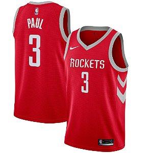 Camisa Regata Nba Basquete Houston Rockets #3 Paul