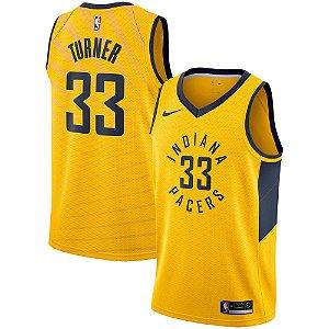 2aa18d1ae Camisa Regata Nba Basquete Indiana Pacers  33 Turner