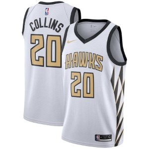 Camisa Regata Nba Atlanta Hawks Basquete #20 Collins