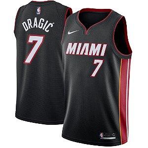Camisa Regata Nba  Basquete Miami Heat #7 Dragic