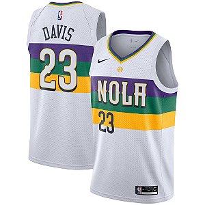 Camisa Regata Nba Basquete New Orleans Pelicans #23 Davis
