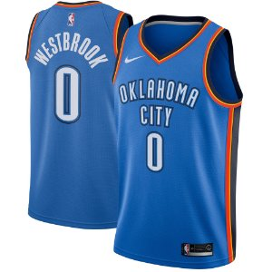 Camisa Regata Nba 3 Oklahoma City Thunder #0 Westbrook