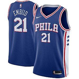 Camisa Regata Basquete Nba Philadelphia 76ers #21 Embiid