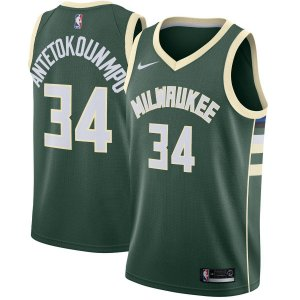 Camisa Nba Basquete Milwaukee Bucks #34 Antetokounmpo