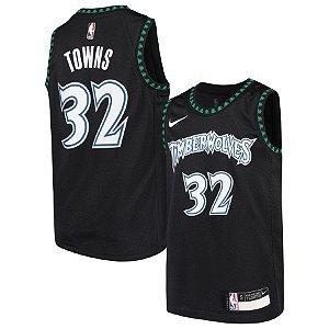 Camisa Nba Basquete Minnesota Timberwolves #32 Towns