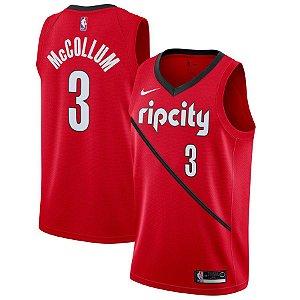 Camisa Regata Nba Portland Trail Blazers #3 Mccollum