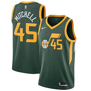 Camisa Regata Basquete Nba Utah Jazz #27 Mitchell