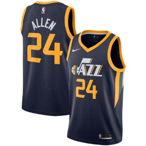 Camisa Regata Basquete Nba Utah Jazz #24 Allen
