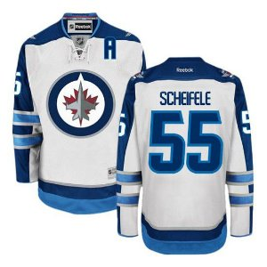 Camisa Nhl Jersey Winnipeg Jets Hockey #55 Scheifele