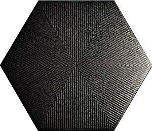 Revestimento Hexagonal Black