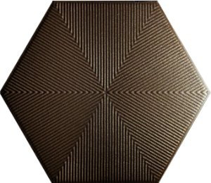 Revestimento Hexagonal Brown