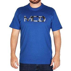 Camiseta Mcd Regular Corvus - Azul são Francisco