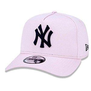 BONÉ NEW ERA 940 NEW YORK YANKEES MLB - ROSA