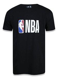 CAMISETA NEW ERA NBA LOGO - PRETA