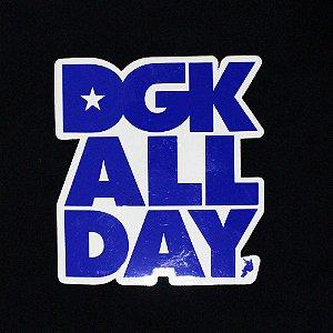 ADESIVO STICKERS DGK DGK ALL DAY SKATEBOARDING - BLUE