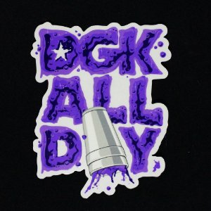 ADESIVO DGK STICKERS ALL DAY DRINK
