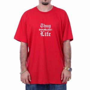 CAMISETA DOUBLE-G THUNG LIFE - RED