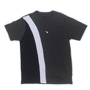 Camiseta Blaze Supply Pipe Tricolor Diagonal Cinza