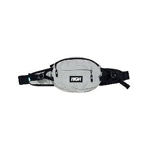 Overdyed Denim Waist Bag Grey