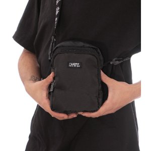 SHOULDER BAG CHRONIC LOGO TAG 021/005 - PRETA