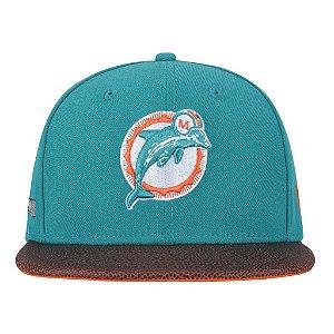 Boné Snapback New Era Miami Dolphins NFL  - Adulto