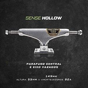 TRUCK SENSE IMPORTADO - SERIE HOLLOW LIGHT - 149MM - PRATA