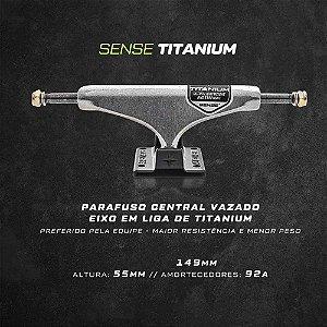 Truck Sense Titanium Hollow 137mm - Importado