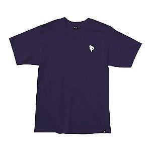 Camiseta Posso Logo Mini P - Purple Black