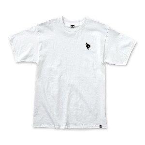 Camiseta Posso Logo Mini P - Purple White