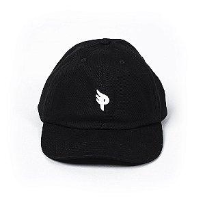 Bone Posso Logo Mini P Dad Hat - Black