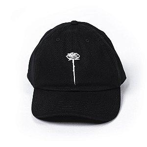 Bone Posso Rosa Dad Hat - Black