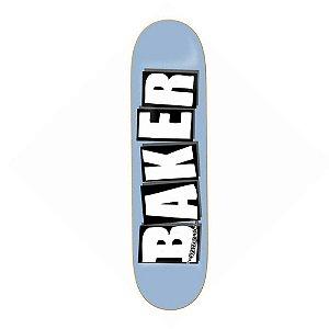 Shape Baker Brand Logo Light Blue 8.0'' + Lixa emborrachada Grátis
