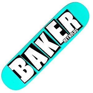"""SHAPE BAKER PRO-MODEL ANDREW REYNOLDS NEON BLUE 8.0"""" + LIXA EMBORRACHADA GRÁTIS"""