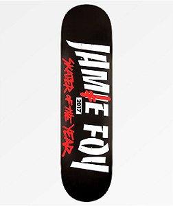 "Shape Deathwish Pro-Model Jamie Foy Sot Black 8.0"" (Grátis lixa Emborrachada)"