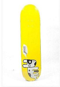 "Shape Ynova Skateboard Dog 7.75"" + LIXA GRÁTIS"