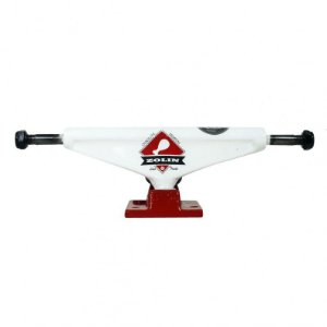 TRUCK LIGA ZOLIN 3 139MM - WHITE/RED