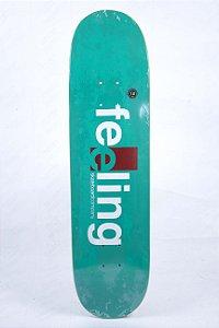 """Shape Feeling fiberglass verde 8.0"""" + LIXA GRÁTIS"""